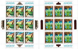 MACEDONIA  - 102-103 - EUROPA 1997 - SAGAS AND LEGENDS - 2 X SHEETLETS - MNH ** - Macedonia