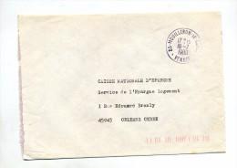 Lettre Franchise Cachet Mouilleron - Storia Postale