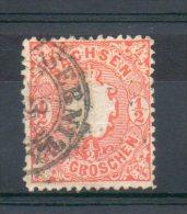 Saxe. 1/2 N Orange - Sachsen