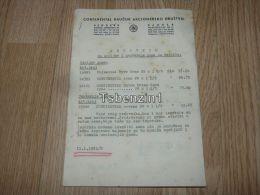 Continental Kaucuk Beograd Zagreb Sombor Zombor 1941 - Fatture & Documenti Commerciali
