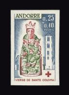ANDORRE N° 172 Croix-Rouge. Non Dentelé. Neuf Sans Charnière. Cote Yvert 97 €. TTB