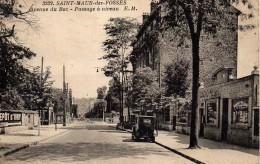 94 SAINT-MAUR-des-FOSSES  Avenue Du Bac - Passage à Niveau - Saint Maur Des Fosses