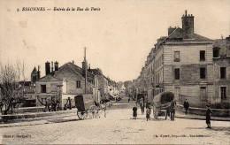 91 ESSONNES  Entrée De La Rue De Paris - Essonnes