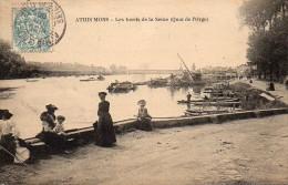 91 ATHIS-MONS Les Bords De La Seine (Quai De L'Orge) - Athis Mons