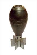 BON PETIT OBUS Mle 39 POUR LE MORTIER 50 mm Mle 37 FAB. 1943 VIDE NEUTRA