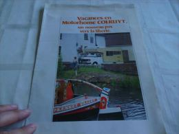 AA2 Rare Publicité Motorhome Colruyt Mobilhome - Camping
