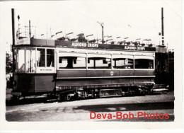 Tram Photo Llandudno & Colwyn Bay Tramway Car 6 Rhos On Sea 1955 - Trains