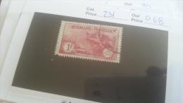 LOT 254687 TIMBRE DE FRANCE OBLITERE N�231 VALEUR 48 EUROS