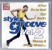 Disque CD STYLE GROOVE V2 2 PAC DE LA SOUL TLC COOLIO WARREN G NENEH CHERRY NEW EDITION JAMIROQUAI URBAN SPECIES LV TLC - Soul - R&B