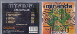Disque CD MIRANDA PHEMENA Steps To The Stars Subtropical Forest Andalgalornis Labyrinth Green Man Weightless Concorde - Musik & Instrumente