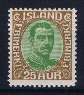 Iceland: 1920 Mi Nr 92, Fa 136 MNH/** Postfrisch - 1918-1944 Administration Autonome