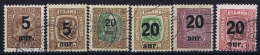 Iceland: 1921 Mi Nr 104 - 109  Used - Oblitérés
