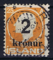 Iceland: 1925 Mi Nr 119  Used - 1918-1944 Autonomous Administration