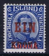 Iceland: 1926 Mi Nr 121  MNH/** Postfrisch    Fa 159 - 1918-1944 Administration Autonome
