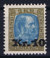 Iceland: 1929 Mi Nr 124  MNH/**  Postfrisch  Fa 103 - 1918-1944 Administration Autonome
