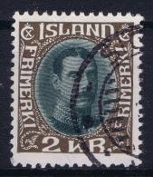 Iceland: 1931 Mi Nr 166 Used  Fa 156 - Oblitérés