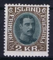 Iceland: 1931 Mi Nr 166 MH/*  Fa 156 Very Light Hinged - 1918-1944 Administration Autonome