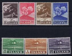 Iceland: 1948 Mi Nr 247 - 253  MNH/** - 1944-... Republique