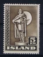 Iceland: 1943 Mi Nr 230 A MNH/** - 1918-1944 Administration Autonome