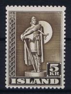 Iceland: 1943 Mi Nr 230 C MNH/** - 1918-1944 Administration Autonome