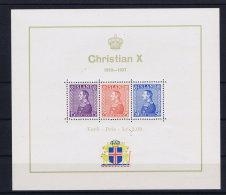 Iceland: Block Nr 1 1937 MNH/** - Blocs-feuillets