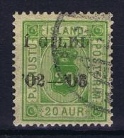 Iceland: Service Mi Nr 15 A  Used  14 : 13,50 - Service