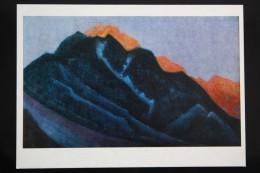 "ROERICH Russian Painter ""Maulbeck Monastery"" OLD Postcard  1980  - Himalaya - Tibet - Peintures & Tableaux"