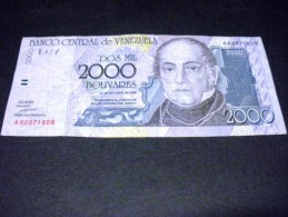 VENEZUELA 2000  Bolivares 29/10/1998,pick N° 80, VENEZUELA - Venezuela