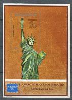 141 MOZAMBIQUE 1986 - Centenaire Statue de la Liberte (Yvert BF 17) Neuf ** (MNH)  sans trace de charniere