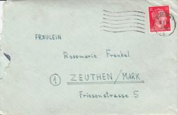 Brief Photos Frenkel/Zeuthen Giessen 1944 - Lettres & Documents