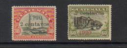 Guatemala 1920 Stamp Set. - Guatemala