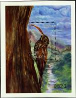 BHUTAN-BIRDS-RED BILLED SKYTHEBILL-MS-LIMITED EDITION-MNH-BMS-14 - Bhutan