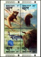 BHUTAN-BIRDS-RHINOCEROS-FLORA-ENVIRONMENT TRUST FUND-MS-MNH-BMS-19 - Bhutan