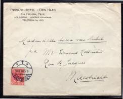 Passage-hotel 's-Gravenhage 1909 Lift Elevator And Heating (ac11) - Periode 1891-1948 (Wilhelmina)