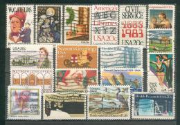 Collection ETATS-UNIS ; U.S.A. ; 1980-84 ; Y&T N° ; Lot : 106 ; Oblitéré ; - Usati