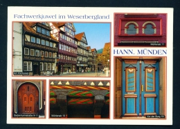 GERMANY  -  Hann Munden  Multi View  Used Postcard As Scans - Germany