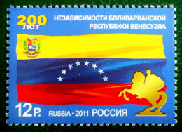 BICENTENAIRE DE LA REPUBLIQUE DU VENEZUELA 2011 - NEUF ** - YT 7227 - MI 1724 - 1992-.... Fédération