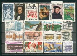 Collection ETATS-UNIS ; U.S.A. ; 1983-1984 ; Y&T N° ; Lot 105 ; Oblitéré ; - Usati