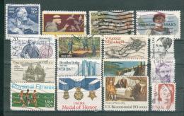 Collection ETATS-UNIS ; U.S.A. ; 1982-1983 ; Y&T N° ; Lot 104 ; Oblitéré ; - Usati