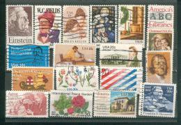 Collection ETATS-UNIS ; U.S.A. ; 1979-1982 ; Y&T N° ; Lot 103 ; Oblitéré ; - Usati