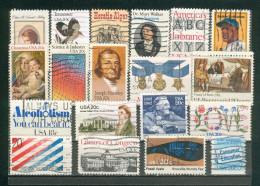 Collection ETATS-UNIS ; U.S.A. ; 1981-1983 ; Y&T N° ; Lot 102 ; Oblitéré ; - Usati