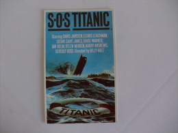 Cinema/Films/Movies S.O.S. Titanic Portugal Portuguese Pocket Calendar 1987 - Formato Piccolo : 1981-90