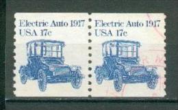 Collection ETATS-UNIS ; U.S.A. ; 1981 ; Y&T N° 1364 ; Lot : Paire ; Oblitéré ; - Usati