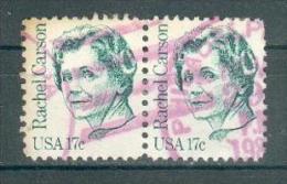 Collection ETATS-UNIS ; U.S.A. ; 1981 ; Y&T N° 1317 ; Lot : Paire ; Oblitéré ; - Usati