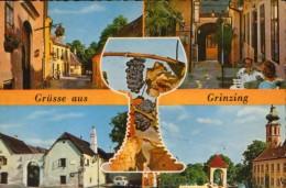Österreich - Postkarte Zirkuliert Im Jahr 1970  -  Wien -  Grinzing - 2/scans - Grinzing