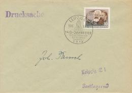 LEIBZIG - 1953 , Drucksache - DDR