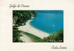 GOLFO  DI  OROSEI   CALA  GONONE  CALA  LUNA     MAXI-CARD   (VIAGGIATA) - Italia