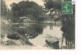 CPA (51) CHAMPIGNY -  Le Pont,  Barques   (022) - Champigny