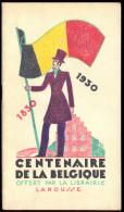 Centenaire De La Belgique - 1830/1930. - Culture