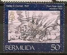 Bermudes Bermuda 1985 Halley's Comet Obl - Bermuda